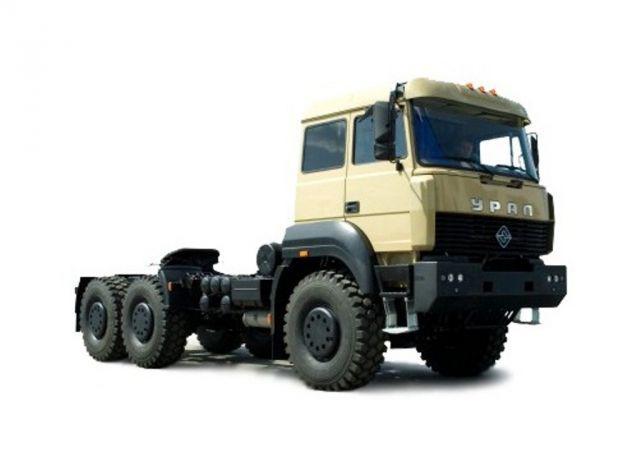 Седельный тягач «Урал 63704М-0111»