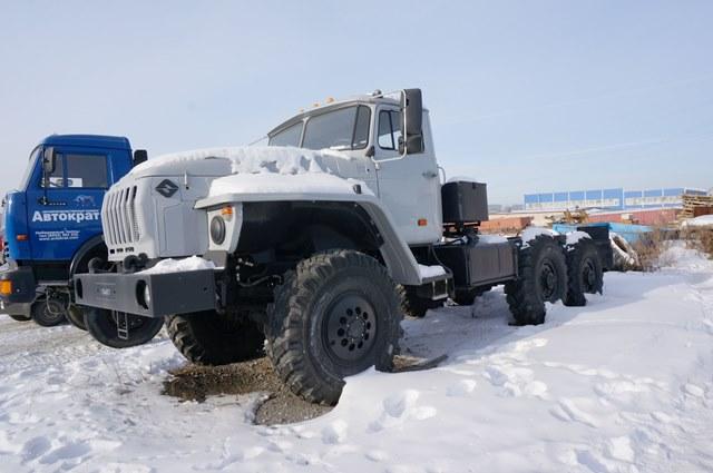 Шасси Урал 4320-1151-41