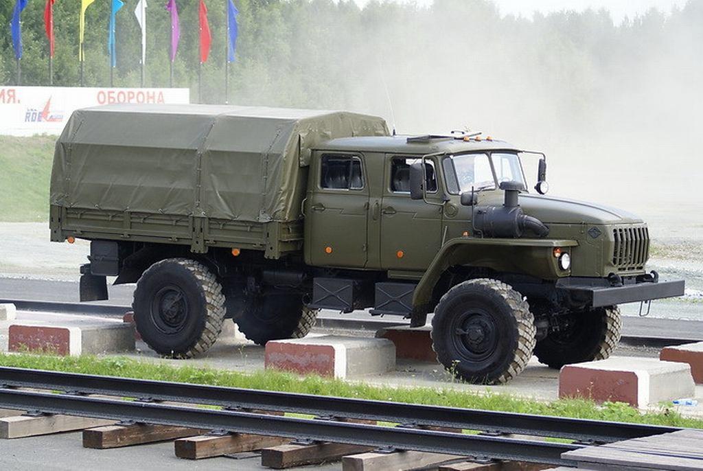 Бортовой автомобиль «Урал 43206-0551-71М»