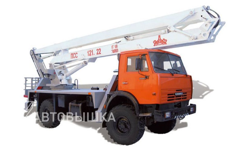 Автогидроподъемник ППС-131.22Э «КамАЗ 4326», общий вид
