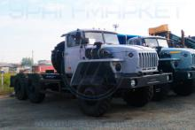 Шасси «Урал 4320-1111-61М» на стоянке