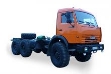 Шасси «КамАЗ 5350-42», общий вид